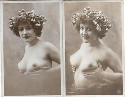 NU SERIE 49 X2 SEINS NUS SEXY - Fine Nudes (adults < 1960)