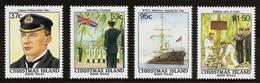 CHRISTMAS ISLAND 1988 - Centennial ANNEXATION Of The Island By UNITED KINGDOM - 4v Mi 258-261 MNH ** Cv€5,50 V863q - Christmaseiland
