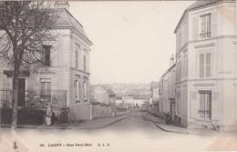 FRANCE - CARTE POSTALE - LAGNY -  RUE PAUL-BERT - Danemark