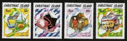 CHRISTMAS ISLAND 1988 - CHRISTMAS / TOYS For KIDS - 4v Mi 266-269 MNH ** Cv€4,50 V863s - Christmaseiland