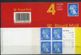 1990 Gran Bretagna, Libretto 60 P. JA1, Serie Completa Nuova (**) - 1952-.... (Elizabeth II)