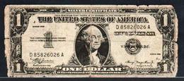 ITALIE: FAUX BILLET De 1 Dollar 45 (1935) Satirique Sur Les Fausses Promesses Américaines (Guerre 1939/45) - [ 1] …-1946 : Royaume