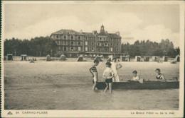 56 CARNAC / Le Grand Hotel Vu De La Mer / Animation - Carnac