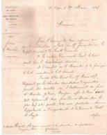 Courrier Sous-préfectoral : Le Vigan - Lasalle - Quissac - Rivet De Sabatier - Decretos & Leyes