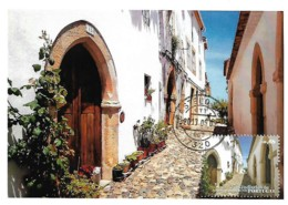 Portugal 2010 Synagogue De Castelo De Vide Religion Judaïsme Maxicard Carte Maximum - Judaisme