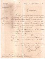Courrier Sous-préfectoral : Le Vigan - Quissac - Rivet De Sabatier / Prestation De Serment - Wetten & Decreten