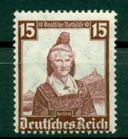Allemagne - Deutsches Reich 1935 - Y & T N. 553 - Timbres Des Costumes Régionaux (Michel N. 594) - Deutschland
