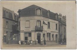 80   Le Crotoy Carte Photo  Taverne De La Poste - Le Crotoy