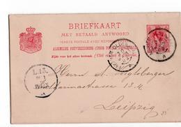 Arnhem Oldenzaal A Grootrond - 1902 - Postal History