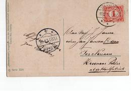 Neuzen 4 Langebalk Biervliet - 1911 - Postal History