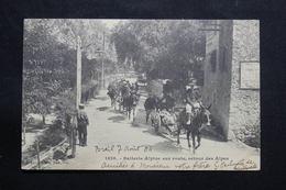 MILITARIA - Carte Postale - Batterie Alpine Sur La Route , Retour Des Alpes - L 55452 - Reggimenti