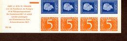 Markenheftchen NL PB 16 B Königin Juliane / Ziffern Postfr. MNH ** Neuf (56) - Postzegelboekjes En Roltandingzegels