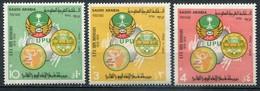 Saudi Arabien Mi# 554-6 Postfrisch MNH - UPU 1974 - Arabie Saoudite