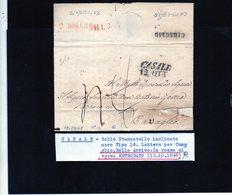 CG20 - Lett. Da Casale X Cavaglio 12/10/1826 - Italia