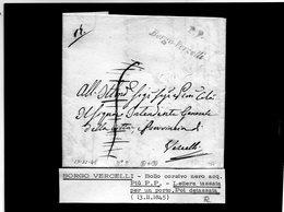 CG20 - Lett. Da Borgo Vercelli X Vercelli 13/11/1845 - Italia