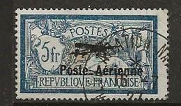 FRANCE:, Obl., PA  N° YT 2, Signé Calves, TB - Luftpost
