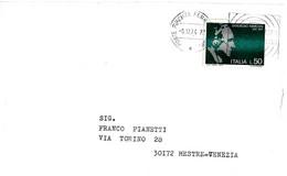 ITALIA - 1974 FIRENZE Anno Marconiano GUGLIELMO MARCONI - Annullo A Targhetta - 2856 - Celebrità