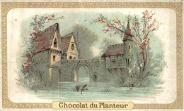 CHROMO CHOCOLAT DU PLANTEUR PAYSAGE - Andere