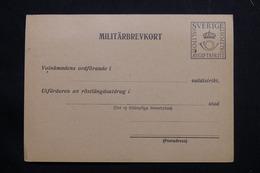 SUÈDE - Carte Militaire En 1940 Non Circulé - L 55466 - Militari