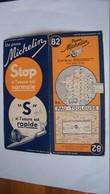 Ancienne Carte Michelin 82 Pau - Toulouse 1936 - Callejero