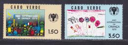 CAP VERT N°  403 & 404 ** MNH Neufs Sans Charnière, TB, Année De L'enfant UNICEF 1979 (D9103) - Cap Vert