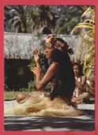 MOOREA -îles Du Vent Dans L'archipel De La Société *Danseuse D'Aparima TOP ** 2 SCAN- - Polynésie Française