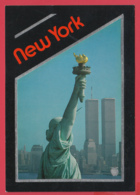 NEW YORK - Statue De La Liberté - Towers Of The World Trade Center *Photo Bart Barlaow* 2 SCAN- - World Trade Center