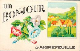 Carte 1940 UN BONJOUR D'AIGREFEUILLE - Otros Municipios