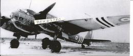 PHOTO AVION  JUNKER JU88 A N°18 GB 1/31 BASE DE CAZAUX 1945 RETIRAGE  17X7CM - Aviazione