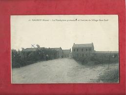 CPA  - Nauroy  -(Aisne) - Le Presbytère Protestant Et L'entrée Du Village -(face Sud) - Andere Gemeenten