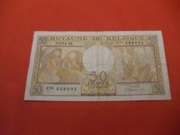 Belgique , 50 Francs 1956 - [ 2] 1831-... : Koninkrijk België