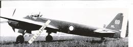 PHOTO AVION JUNKER JU88A AAC1 GB 1/31 AUNIS RETIRAGE 17X5CM - Aviazione