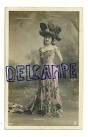 Folies Bergères. ANDREA. Photographie Glacée. 1906 - Artistes