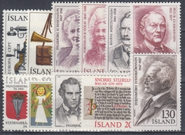 +G2328. Iceland 1979. Full Year Set. MNH(**) - Années Complètes