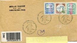 52017 Italia,front Of Cover With Special Postmark 1998 Bologna, Anniversario Morte Luigi Galvani - Italië