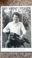 CPSM MUSIQUES D EN FRANCE LOTHAIRE MABRU VIELLE PLATE 1 PHOTO THIERRY BOISVERT 1988 IMP ART MEDIA 150 EXPL - Musique Et Musiciens