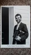 CPSM MUSIQUES D EN FRANCE PHILIPPE KRUMM ACCORDEON DIATONIQUE 3  PHOTO THIERRY BOISVERT 1988 IMP ART MEDIA 150 EXPL - Musique Et Musiciens