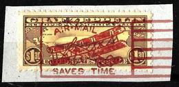 537 - USA - 1930 - AIR MAIL - ZEPPELIN - FORGERY - FAUX - FAKE - FALSE - FALSCH - Briefmarken