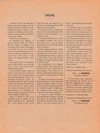 WW1 1915 SAINT-QUENTIN -Consignes Allemandes Pour Les Territoires Occupés - Sévèrement Punis - Pigeons Voyageurs - Documents Historiques