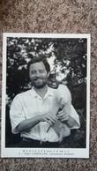 CPSM MUSIQUES D EN FRANCE ALAIN CADEILLAN CORNEMUSE LANDAISE 9   PHOTO THIERRY BOISVERT 1988 IMP ART MEDIA 150 EXPL - Musique Et Musiciens