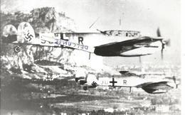 PHOTO AVION MESSERSCHMITT ME 111 DU ZG 26 EN VOL  ARCHIVE CUICH 17X11CM - Aviation