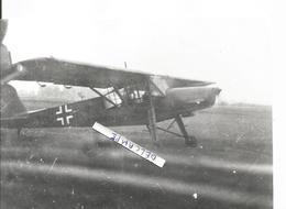 PHOTO AVION MESSERSCHMITT FIESELER 156 11X17CM - Aviazione