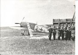 PHOTO AVION AVION ALLEMAND  A IDENTIFIER 11X17CM - Aviazione