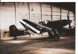 PHOTO AVION AVION JUNKER ? A IDENTIFIER RETIRAGE  11X17CM - Aviation