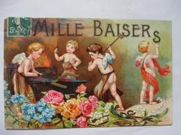 ANGES    ET      FLEURS     -  DORE  -    MILLE  BAISERS          .....           TTB - Other