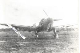 PHOTO AVION ALLEMAND A IDENTIFIER  12X18CM - Aviazione