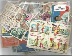 Lot De 300  Timbres Des Philippines - Philippines