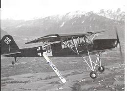 PHOTO AVION ALLEMAND FIESELER  A IDENTIFIER   12X18CM - Aviation