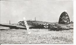 PHOTO AVION ALLEMAND A IDENTIFIER  CRASH 17X10CM - Aviazione