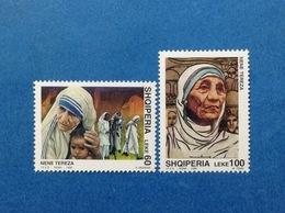 1998 ALBANIA FRANCOBOLLI NUOVI STAMPS NEW MNH** Madre Teresa Di Calcutta Congiunta Con Italia - 1991-00:  Nuovi